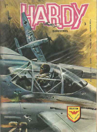 Cover for Hardy (Arédit-Artima, 1971 series) #3
