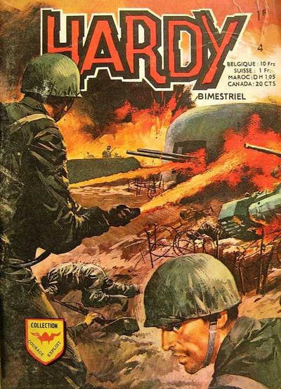 Cover for Hardy (Arédit-Artima, 1971 series) #4