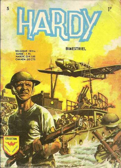 Cover for Hardy (Arédit-Artima, 1971 series) #5