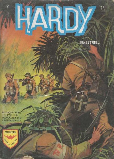 Cover for Hardy (Arédit-Artima, 1971 series) #7