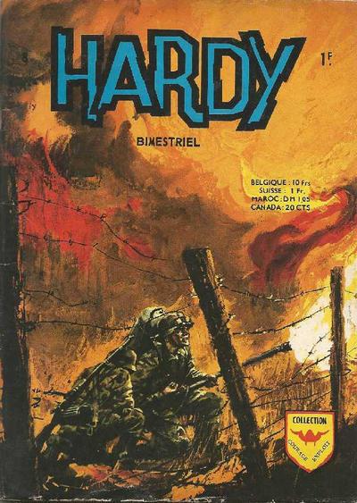 Cover for Hardy (Arédit-Artima, 1971 series) #8