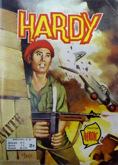 Cover for Hardy (Arédit-Artima, 1971 series) #43
