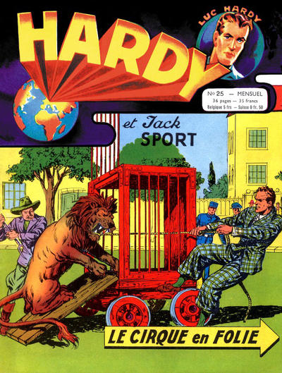 Cover for Hardy (Arédit-Artima, 1955 series) #25