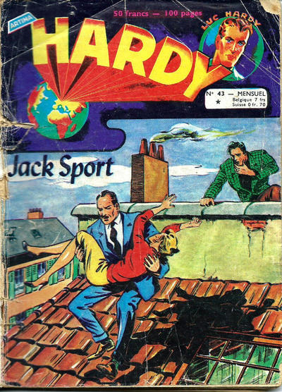 Cover for Hardy (Arédit-Artima, 1955 series) #43