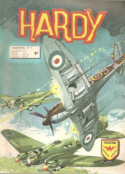 Cover for Hardy (Arédit-Artima, 1971 series) #9