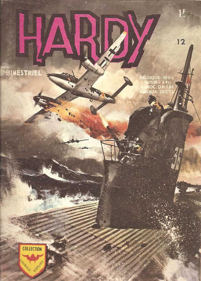 Cover for Hardy (Arédit-Artima, 1971 series) #12