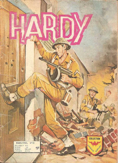 Cover for Hardy (Arédit-Artima, 1971 series) #13