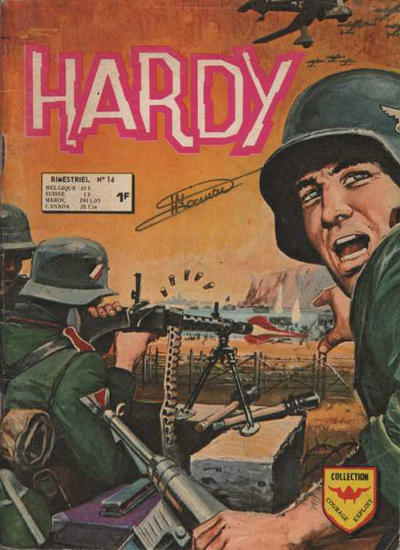Cover for Hardy (Arédit-Artima, 1971 series) #14