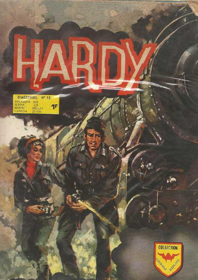 Cover for Hardy (Arédit-Artima, 1971 series) #15