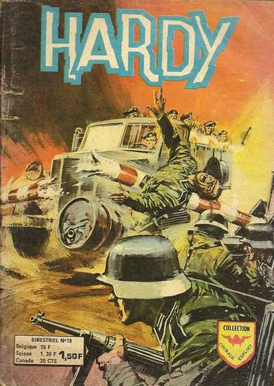 Cover for Hardy (Arédit-Artima, 1971 series) #18