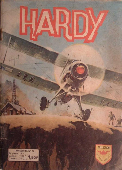 Cover for Hardy (Arédit-Artima, 1971 series) #20