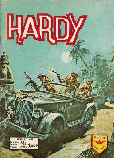 Cover for Hardy (Arédit-Artima, 1971 series) #21