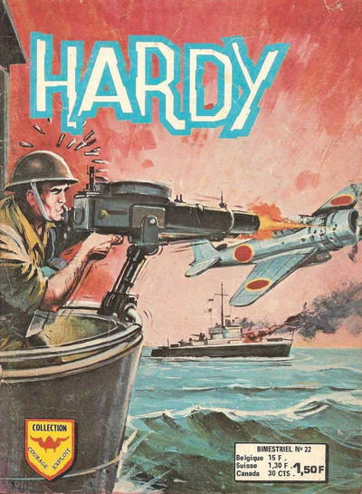 Cover for Hardy (Arédit-Artima, 1971 series) #22
