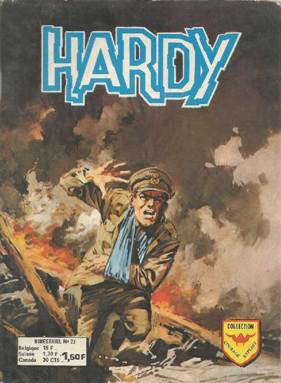 Cover for Hardy (Arédit-Artima, 1971 series) #23