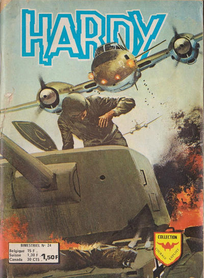 Cover for Hardy (Arédit-Artima, 1971 series) #24