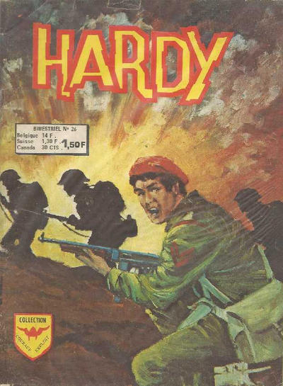 Cover for Hardy (Arédit-Artima, 1971 series) #26