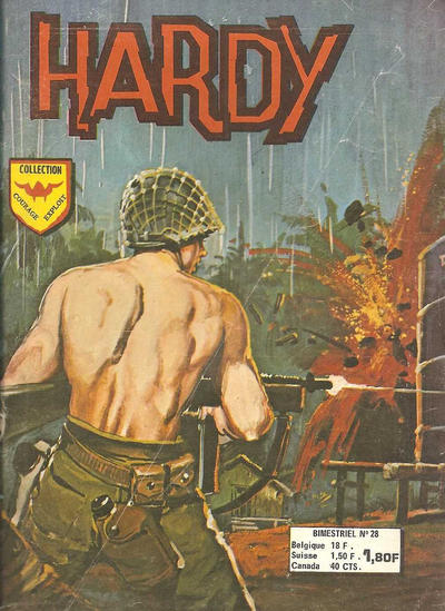 Cover for Hardy (Arédit-Artima, 1971 series) #28