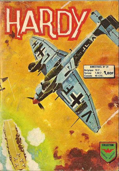 Cover for Hardy (Arédit-Artima, 1971 series) #29