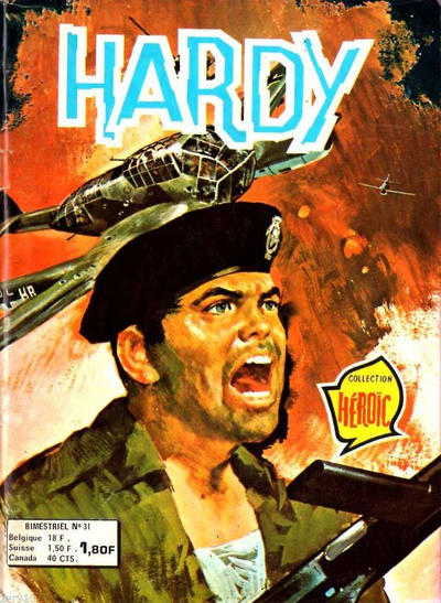 Cover for Hardy (Arédit-Artima, 1971 series) #31