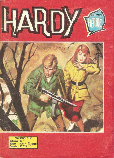 Cover for Hardy (Arédit-Artima, 1971 series) #32