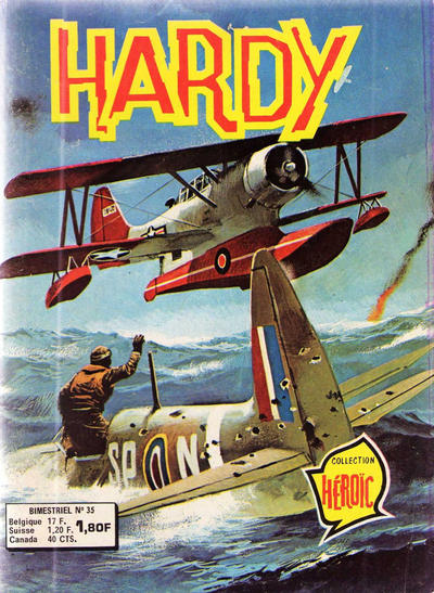 Cover for Hardy (Arédit-Artima, 1971 series) #35
