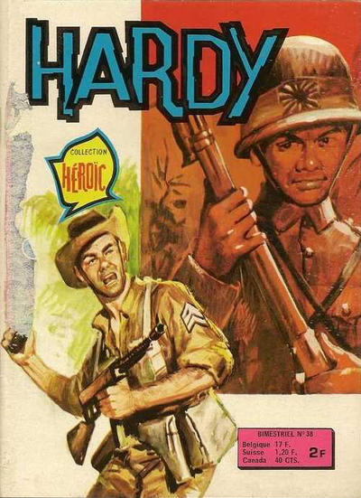 Cover for Hardy (Arédit-Artima, 1971 series) #38