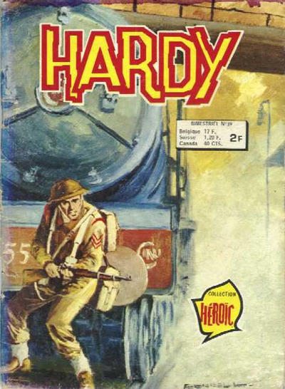 Cover for Hardy (Arédit-Artima, 1971 series) #39