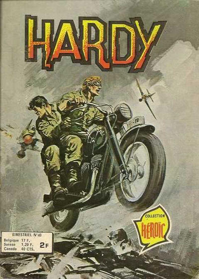 Cover for Hardy (Arédit-Artima, 1971 series) #40