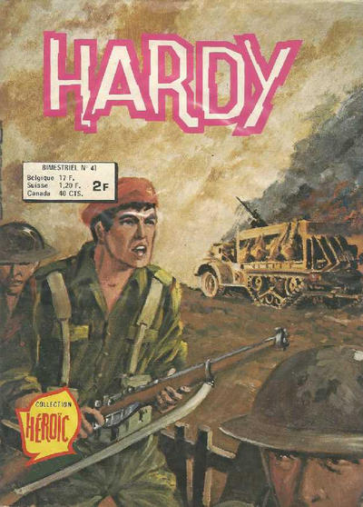 Cover for Hardy (Arédit-Artima, 1971 series) #41