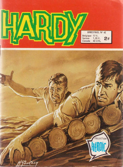 Cover for Hardy (Arédit-Artima, 1971 series) #42