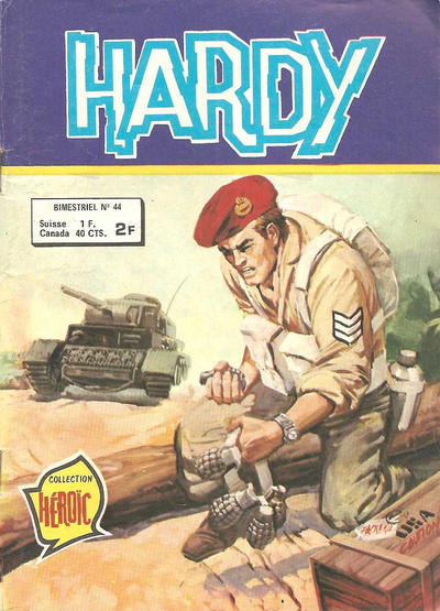 Cover for Hardy (Arédit-Artima, 1971 series) #44