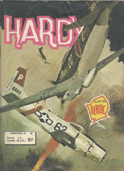 Cover for Hardy (Arédit-Artima, 1971 series) #45