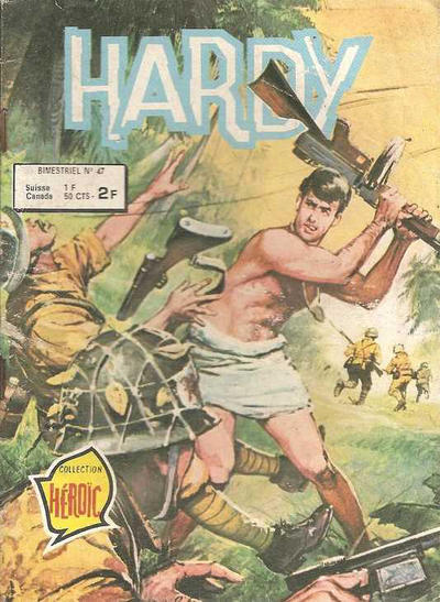 Cover for Hardy (Arédit-Artima, 1971 series) #47