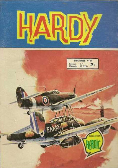 Cover for Hardy (Arédit-Artima, 1971 series) #49