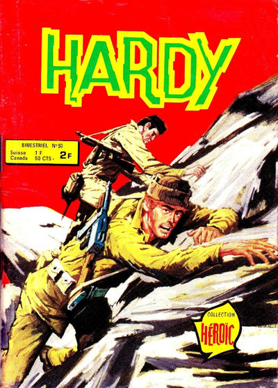 Cover for Hardy (Arédit-Artima, 1971 series) #50
