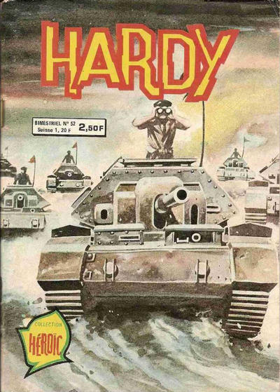 Cover for Hardy (Arédit-Artima, 1971 series) #52