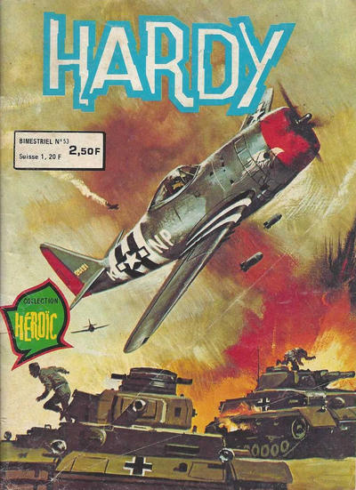 Cover for Hardy (Arédit-Artima, 1971 series) #53