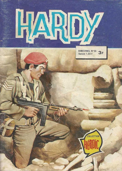 Cover for Hardy (Arédit-Artima, 1971 series) #55