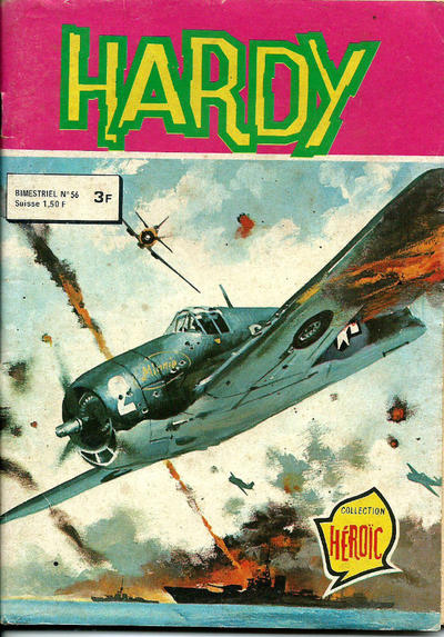 Cover for Hardy (Arédit-Artima, 1971 series) #56