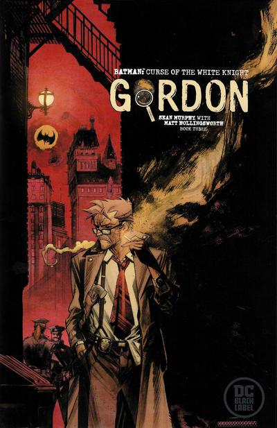 "Cover for Batman: Curse of the White Knight (DC, 2019 series) #3 [Sean Murphy ""Gordon"" Cover]"