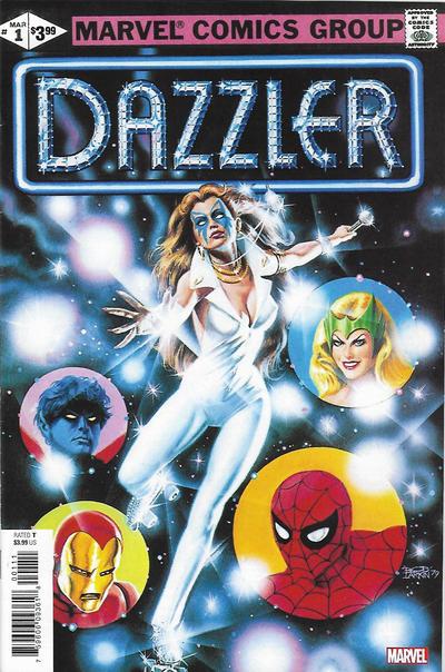 Cover for Dazzler No.1 Facsimile Edition (Marvel, 2019 series)
