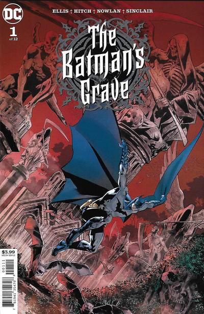 Cover for The Batman's Grave (DC, 2019 series) #1 [Bryan Hitch & Alex Sinclair Cover]