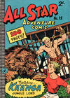 Cover for All Star Adventure Comic (K. G. Murray, 1959 series) #12