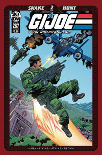 Cover Thumbnail for G.I. Joe: A Real American Hero (IDW, 2010 series) #267 [Cover A - Robert Atkins]