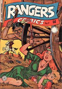 Cover Thumbnail for Rangers Comics (H. John Edwards, 1950 ? series) #17 [6d]