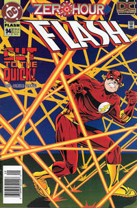 Cover Thumbnail for Flash (DC, 1987 series) #94 [Newsstand]