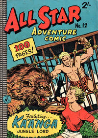 Cover Thumbnail for All Star Adventure Comic (K. G. Murray, 1959 series) #12