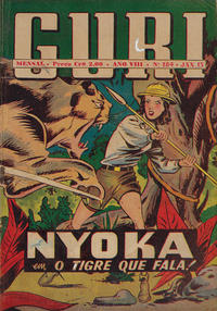 Cover Thumbnail for O Guri Comico (O Cruzeiro, 1940 series) #184