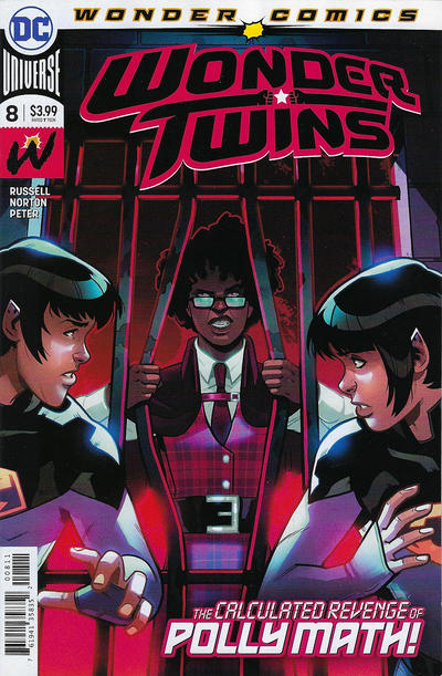 Cover for Wonder Twins (DC, 2019 series) #8