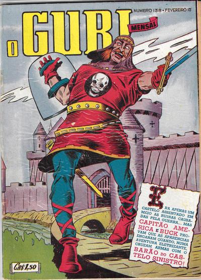 Cover for O Guri Comico (O Cruzeiro, 1940 series) #138